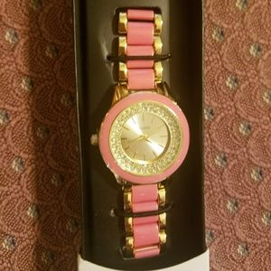 NIB signature collection watch. Pink